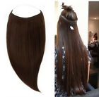 """170G 30"""" Thick Remy Human Hair Invisible Wire Handband Hair Extension"""
