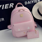 Fashion Korean Girl Leather Cute cat School bags Backpack Shoulder Travel Bag