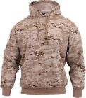 Desert Digital Camouflage Pullover Hooded Sweatshirt