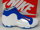 Nike Air Flightposite 2014 White Game Royal Orange New York Knicks 642307-100