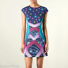 ADIDAS Originals Mary Katrantzou Decathlon Mini Stretch Scuba Dress S UK 10 12
