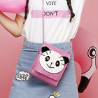 New Fashion Women Handbag PU Panda Shoulder Bag Satchel Messenger Bag Hobo dd