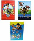 Paw Patrol set 3 quaderni maxi Rigo 10 mm