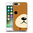 HEAD CASE DESIGNS ANIMAL PORTRAIT SOFT GEL CASE FOR APPLE iPHONE 7 PLUS / 8 PLUS