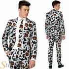 Mens Suitmeister Halloween Icons Print Fancy Dress Costume Suit Adult Outfit