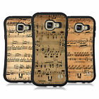 HEAD CASE DESIGNS MUSIC SHEETS HYBRID CASE FOR SAMSUNG GALAXY A3 (2016)