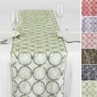 """14"""" x 108"""" Circle Sequin Table Runner Wedding Party Dinner Supply Decorations"""