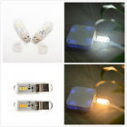 Portable USB 3 LED SMD Touch Switch Night Card Lamp Camping Reading Light MF