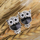 Earring Owl Crystal Women Vintage Animal Bijoux original design unique