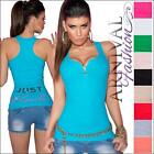 NEW SLEEVELESS SHIRTS for WOMEN 4 6 8 TANK TOPS for LADIES SINGLET petite size