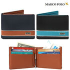 MARCO POLO Brand NEW Men's Saffiano Faux Leather Money Clip Wallet MP545-1