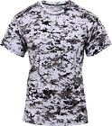 City Digital Camouflage Performance Moisture Wicking Shirt
