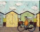 Sam Toft Off For A Breakfast Canvas Print 40x50x3.8cm