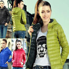 New Women Warm Fashion Hooded Thick Coat Jacket Trench Windbreaker Parka Outwear