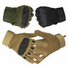 Tactical Hard Knuckle Gloves Combat Assault Armed Army Military Police Security