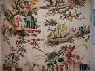 "Brunschwig & Fils ""Le Lac"" on linen novelty fabric by the yard multiple colors"