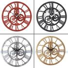 DIY Gear Modern Clock Retro Acrylic Creative Art Wall Clock Fashion Home Decor