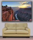 "Wall Art Canvas Print Colorado River Grand Canyon Huge 40""x30"" Framed or Rolled"