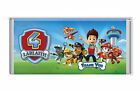 5 x Paw Patrol Theme Personalised 40g Chocolate Bars Party Favours
