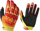 12009-080 Fox Dirtpaw Imperial Red Yellow Mens Race Glove