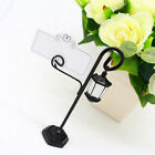 10/20Pcs Name Place Card Holder Streetlamp Table Marker For Wedding Party Decor