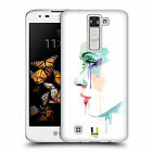 HEAD CASE DESIGNS FACES IN WATERCOLOUR HARD BACK CASE FOR LG K8 / PHOENIX 2