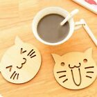 FD4051 Wood Mats Cup Coasters Tea Coffee Holder Cups Pad Mat Tableware Decor
