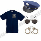 MENS ADULTS NEW YORK AMERICAN POLICE MAN COP FANCY DRESS COSTUME STAG PARTY