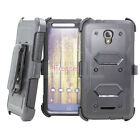 Shcokproof Armor Clip Holster Case Cover For Alcatel One Touch Allura/Fierce 4