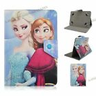 "PU Leather Tablet Case For 9.7""10"" 10.1"" Universal Tablets Pokemon Frozen Cover"
