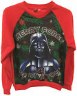 Star Wars Darth Vader Christmas Xmas Jumper Merry Force Be With You Adult Sizes