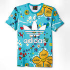 ADIDAS Originals Pharrell Williams Floral Artist Slim Fit Tee T-Shirt XS S M L
