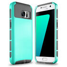 For Samsung Galaxy S7 / S7 edge Shockproof Silicone Hybrid Slim Hard Case Cover