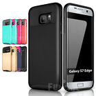 Shockproof Silicone Dual layered Slim Hard Case Cover for Samsung Galaxy S7/edge