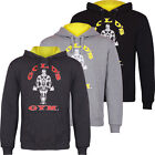 Gold's Gym 2016 Mens Muscle Joe Sport Fitness Pullover Training Hoodie