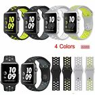 New Sports Silicone Strap Replacement Bracelet For Apple Watch 2 /1 Bands 42MM