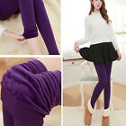 Lady Women's Winter Warm Thick Fleece Warm Lined Thermal Stretchy Skinny Legging