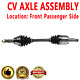 FRONT RIGHT Passenger Side CV Joint Axle Drive Shaft For INFINITI FX35 FX45