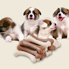 6pcs Dog Pet Puppy Dental Chews Bone Natural Large Smart Bones Teething Toys JR