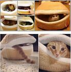 Hamburger Cat Litter Kitten Nest Detachable Cat Nest Warm Soft Cat Dog Bed