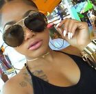 "XL  ""Posche"" OVERSIZED Women Sunglasses Aviator Flat Top Square Shadz Glasses"