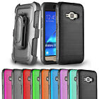 For Samsung Galaxy J1 Luna 4G Case Belt Clip Holster Hybrid  Protective Cover