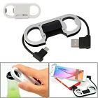 3 in1 Protable Micro USB Keychain Fast Charging Sync Data Cable Bottle Opener
