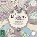 Dovecraft First Edition Paper Pad Mulberry Kisses;Scrapbooking Papier 15,2x15,2c