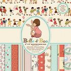 Dovecraft Belle and Boo Paper Pack 6x6; Scrapbooking Papier