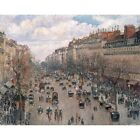 Reproduction of paintings Boulevard Montmartre in Paris author Camille Pissarro