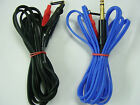 tattoo springless clip cord blue or black,nearly 8ft bargain price,strong grip