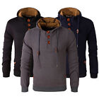 Men's Winter Autumn Hoodie Warm Hooded Sweatshirt Coat Jacket Outwear Sweater