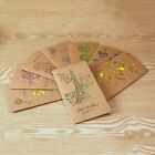 Kraft Paper Greeting Card Blessing Greeting Message Christmas Birthday Card Chic