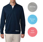 Ashworth Slub French Terry 1/2 Zip Pullover Golf Shirt Mens Closeout New